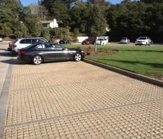 Alternative Infill Parking Lot