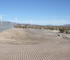Drivable Grass® Pavement at the Ocotillo Express Wind Project