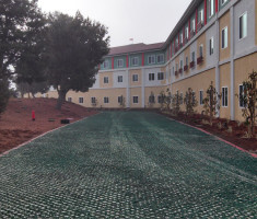 LEGOLAND Hotel Fire Lane Hydroseeded Drivable Grass® Permeable Pavers