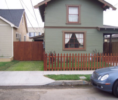Green Driveway Paved With Drivable Grass® Permeable Pavement