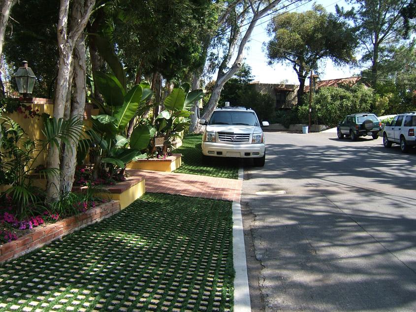 Parking - Soil Retention