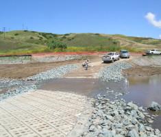 Enviroflex low water stream crossing