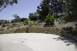 Verdura Driveway Encinitas - Succulents - full