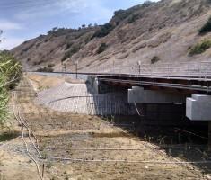 Enviroflex bridge abudment