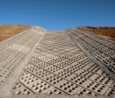 Enviroflex spillway - Pacific Highlands Ranch