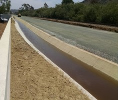 Enviroflex Permeable Ditch in Sorrento Valley