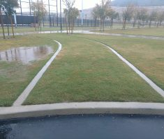 Portola Springs Community Park in Irvine, CA Drivable Grass Utility Access Lane
