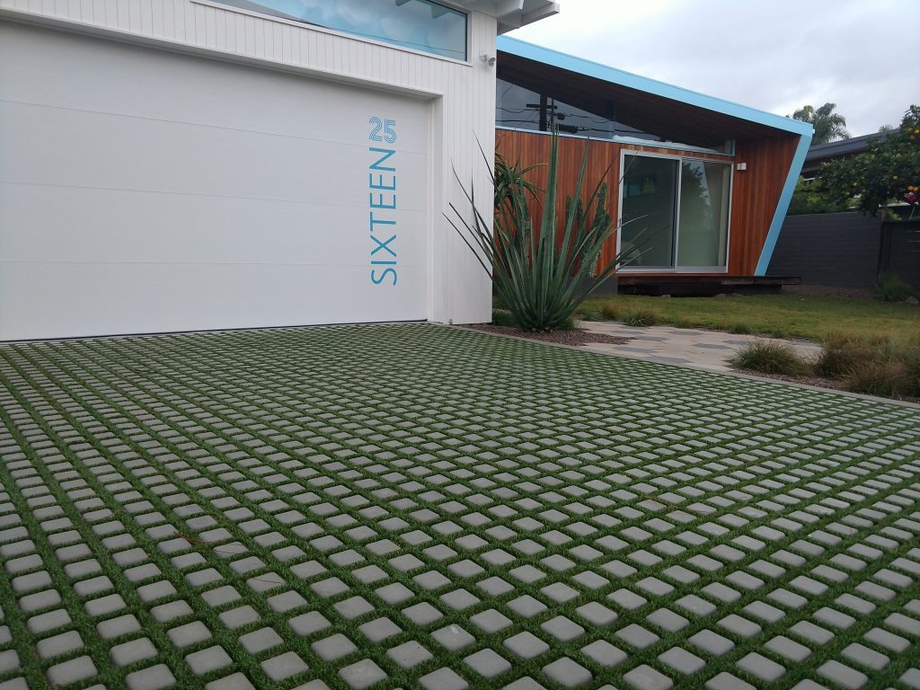 permeable pavement, artificial turf infill